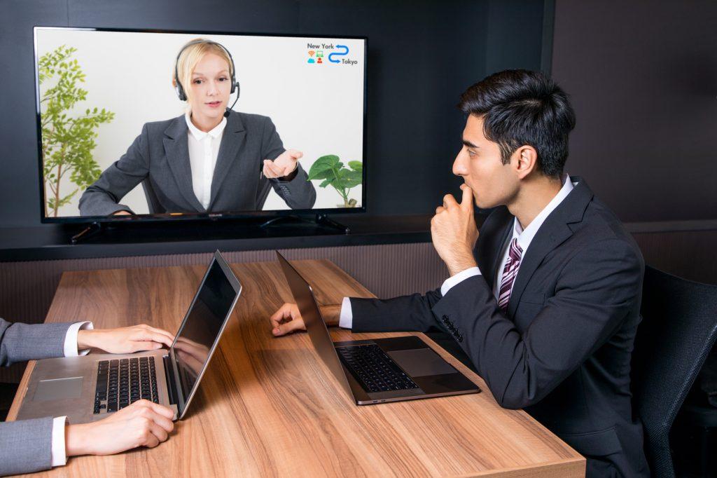 Business Meeting per Videodolmetscher